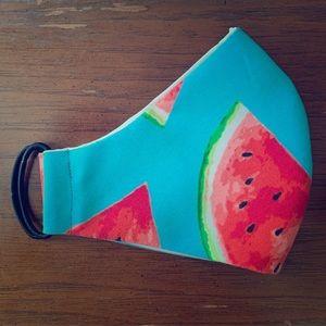 Watermelon face masks